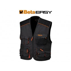 GILET EAST CANVAS GREY TG.L