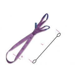 FASCIA NYLON VIOLA KG1000 MT3