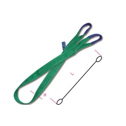FASCIA NYLON VERDE KG 2000 MT 4 AD ANELLO