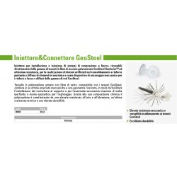 INIETTORE & CONNETTORE GEOSTEEL
