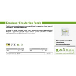 Kerakover Eco Acrilex Fondo 1001 Lt14