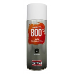 SMALTO SPRAY ALTA TEMPERATURA ALLUMINIO  400ML