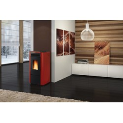 STUFA PELLET KW 7 KETTY BORDEAUX
