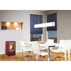 STUFA PELLET KW 5,8 KING 60 BORDEAUX