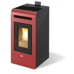 STUFA PELLET KING 16 CANAL. KW15,5 BORDEAUX