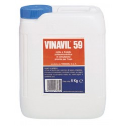 VINAVIL 59 DA KG. 5 ORDINE MINIMO 4 PEZZI