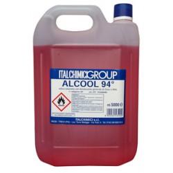ALCOOL DENATURATO 94° CERTIFICATO LT. 5 ORD. MIN.