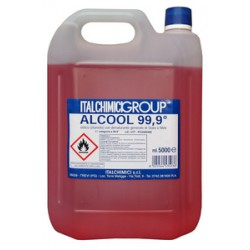 ALCOOL DENATURATO 99,9° CERTIFICATO LT. 5 ORD. MIN