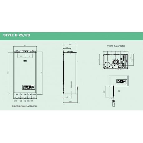 CALDAIA SYLBER STYLE BASIC 25S MTN